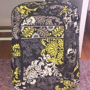 VERA BRADLEY BOROQUE LAPTOP BACKPACK